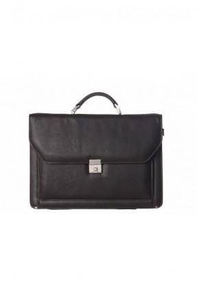 حقيبة جلد رجالية