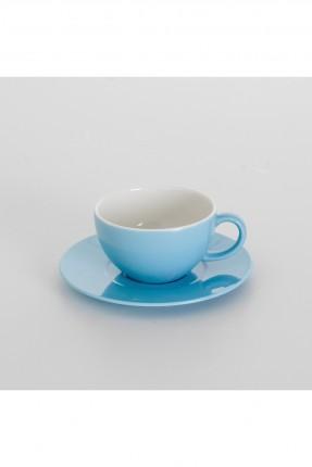 طقم فنجان شاي ازرق / 6 اشخاص