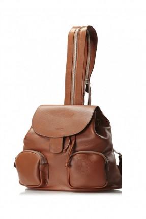حقيبة نسائي ظهر - بني