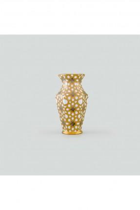 مزهرية فاخرة - ذهبي