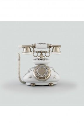 هاتف قديم / ابيض /