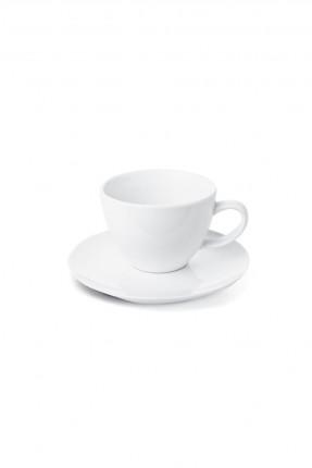 فنجان قهوة ابيض