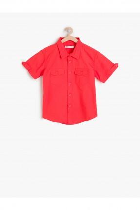 قميص احمر ولادي