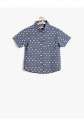 قميص ولادي سبور - ازرق