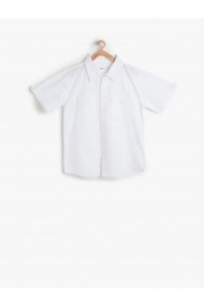 قميص ابيض ولادي