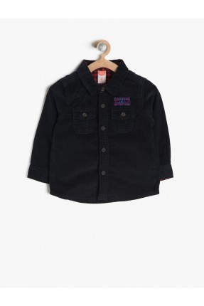 قميص ولادي - كحلي