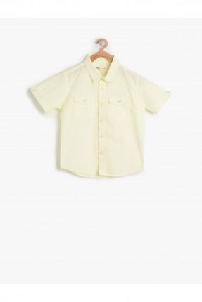 قميص اصفر ولادي