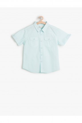 قميص ولادي كم قصير