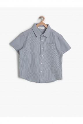 قميص ولادي كم طويل