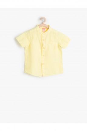 قميص ولادي - اصفر