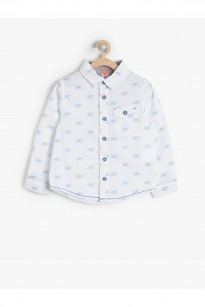 قميص ولادي سبور - ابيض