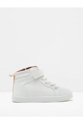 حذاء ولادي - ابيض