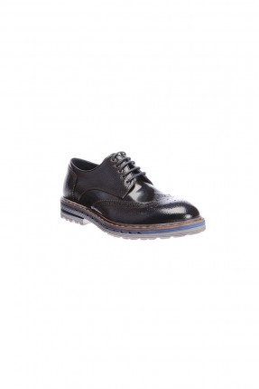 حذاء رجالي رباط - كحلي