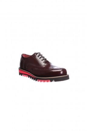 حذاء سبور رجالي - بوردو