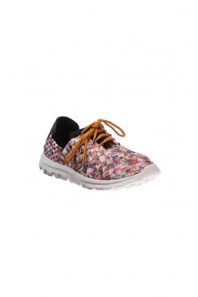 حذاء رياضة نسائي - زهري