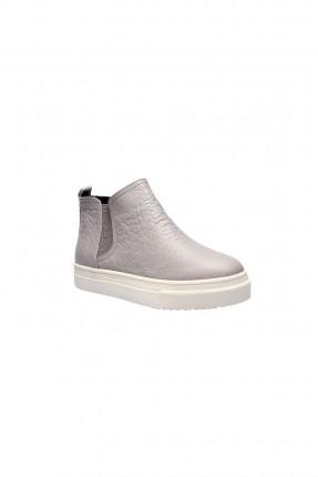 حذاء رياضة نسائي - رمادي