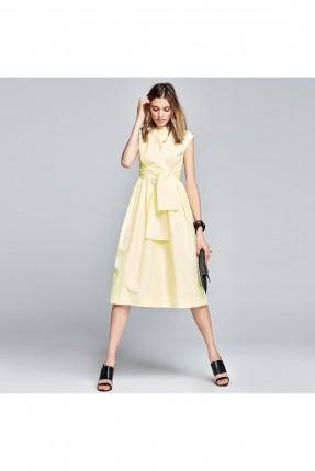 فستان قصير - اصفر