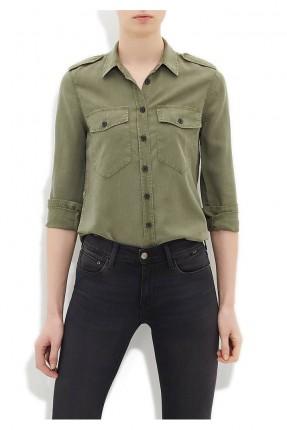 قميص نسائي - اخضر