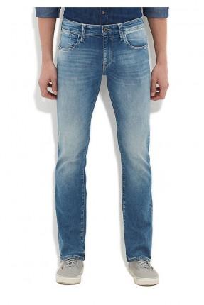 بنطال جينز رجالي - ازرق
