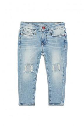 بنطال جينز بناتي - ازرق