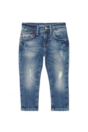 بنطال جينز ولادي - ازرق