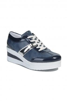 حذاء سبور نسائي - ازرق داكن