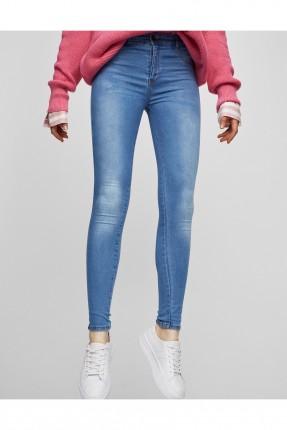بنطال جينز نسائي - ازرق