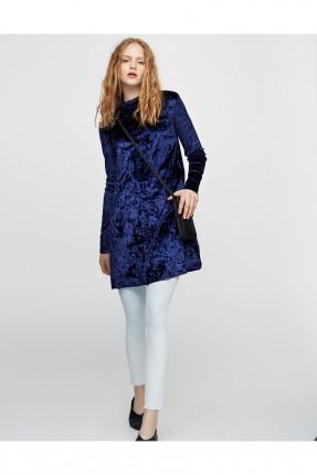 فستان قصير - ازرق