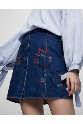 تنورة قصيرة - ازرق