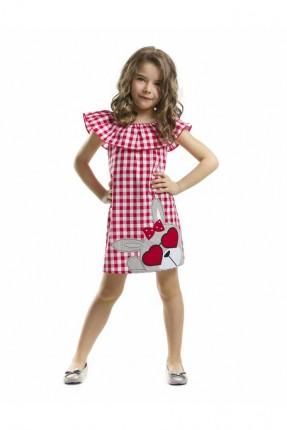فستان بناتي كاروهات