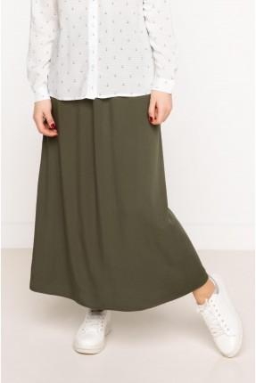 تنورة طويلة سبور - زيتي