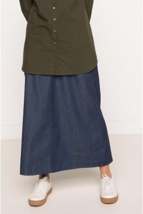 تنورة طويل سبور - ازرق