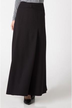 تنورة طويلة رسمية - اسود