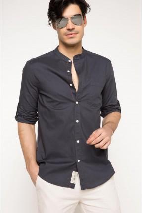 قميص رجالي سبور - ازرق داكن