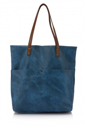 حقيبة نسائية - ازرق