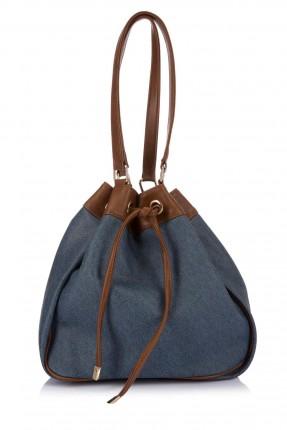 حقيبة صبية - ازرق