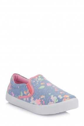 حذاء اطفال بناتي مورد - ازرق نيلي