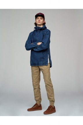 تيشرت جينز رجالي كبيشون - ازرق