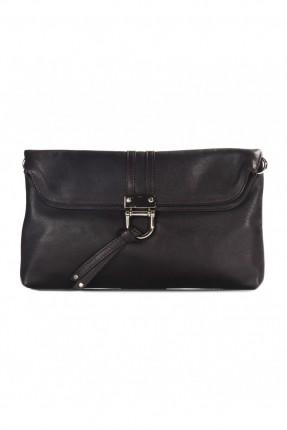 حقيبة نسائية جلد - بني