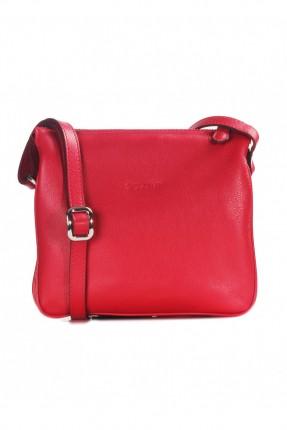 حقيبة يد نسائية جلد - احمر