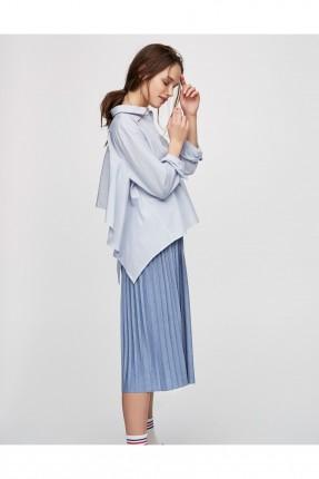 تنورة سبور - ازرق نيلي