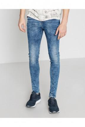 بنطال جينز رجالي - ازرق نيلي