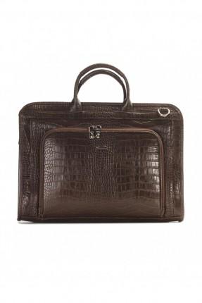 حقيبة يد رجالي جلد لابتوب