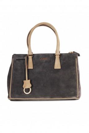 حقيبة يد نسائية - رمادي