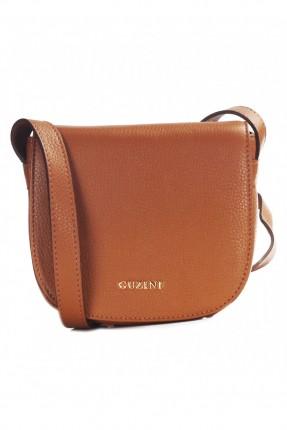 حقيبة يد نسائية جلد - بني