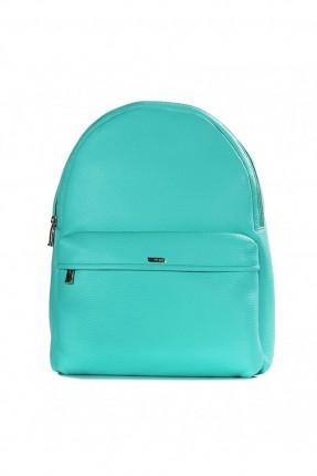 حقيبة ظهر نسائية بسحاب  - ازرق