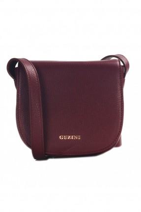 حقيبة نسائية جلد - خمري