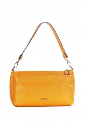 حقيبة نسائية جلد - اصفر
