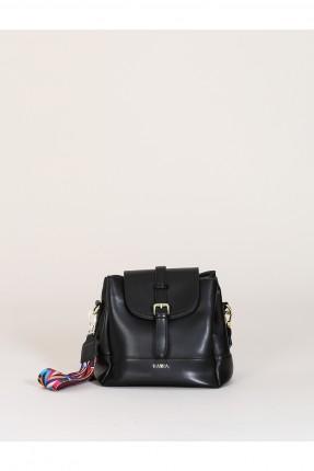Askısı Renkli Çapraz Çanta Siyah B7 CNT13