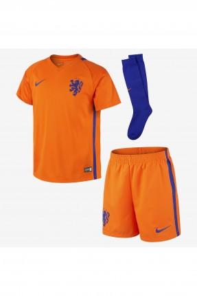 طقم رياضة ولادي صيفي - برتقالي